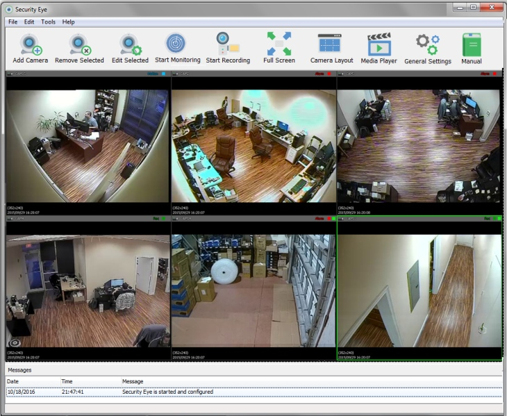 Free Video Surveiilance Software